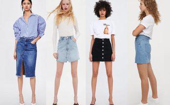 джинсовые юбки 2019
