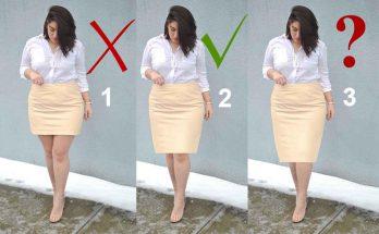 какая должна быть длина юбки