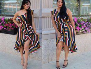 платья лето для полных фото
