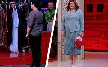 модный приговор январь 2020 года, платье на фигуру яблоко с животом, фигура яблоко большие размеры