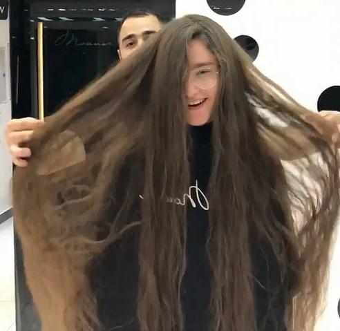 коротко длинные волосы фото