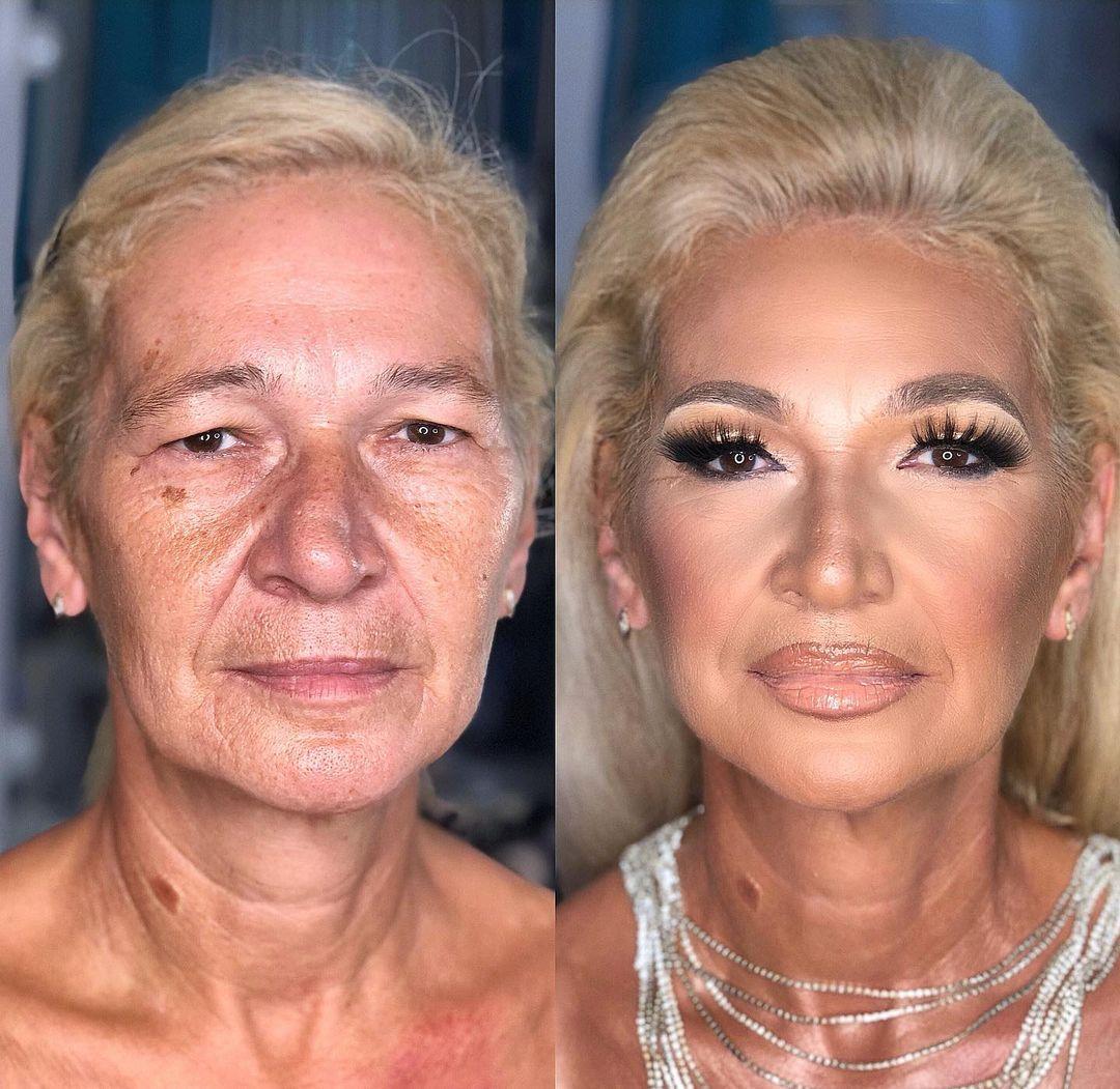макияж после 50 который молодит