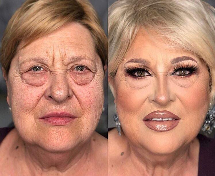 как макияжем скрыть мешки под глазами