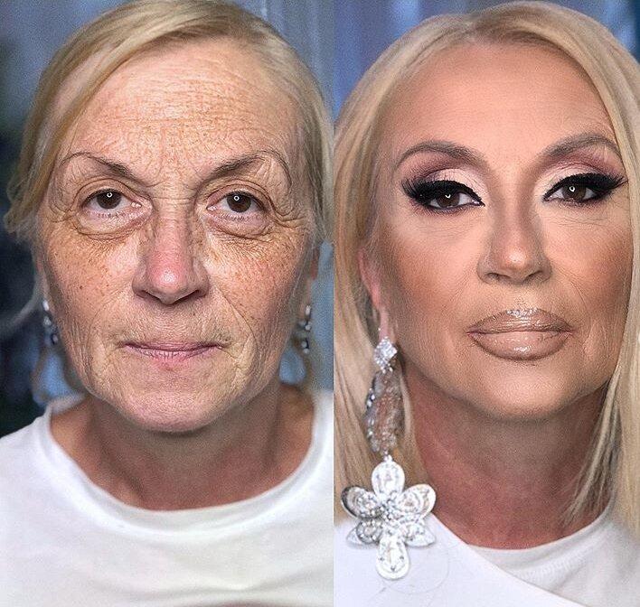 как с помощью макияжа убрать мешки под глазами